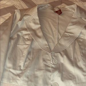 Size 20 lane Bryant gray blazer. Barely worn